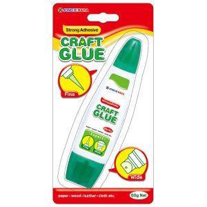 Versatile 60g Craft Glue with a twin applicator